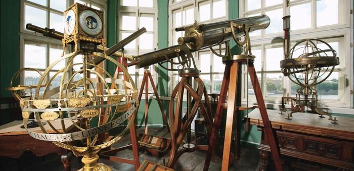 Астрономическая обсерватория - Кунсткамера